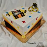 Torta Pre fanúšika  amerického futbalového klubu  Pittsburgh Steelers