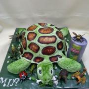 Torta korytnačka pre Miušku a pivko pre ocka