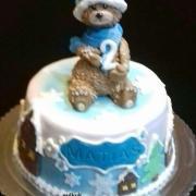 Torta zimná tortička pre chlapčeka
