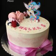 Torta My Little Pony drip torta