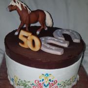 Torta Narodeninová s ľudovým motívom...