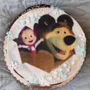 Torta Máša a medveď...