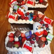 Torta sladkostinková čokoládová