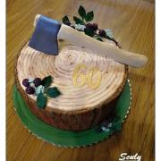 Torta Peň