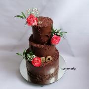 Torta čokoladková trojka