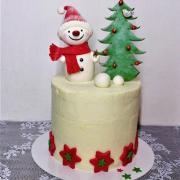Torta Snehuliačik