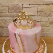 Torta Pre nevestu na rozlúčku so slobodou