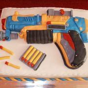 Torta Pištoľ NERF