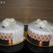 Torta 2x rovnake