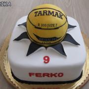 Torta Baskedbal
