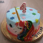 Torta Jednorožec pre vnučku