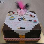 Torta Sminky