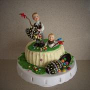 Torta veľkonočná vnúčikom