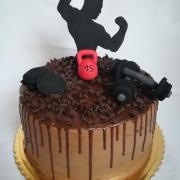 Torta Pre kulturistu