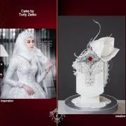 Torta Couture Cakers International 2020