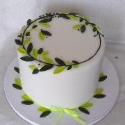 Torta Svadobná jednoduchá darovacia