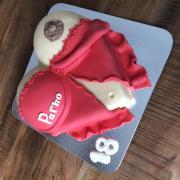 Torta Ženské prsia
