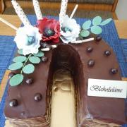 Torta čokoládová podkova