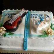 Torta kniha na narodeniny i krstiny