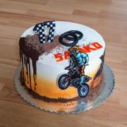 Torta Pre mladého motorkára