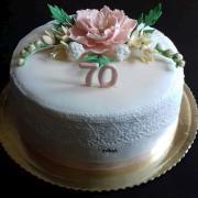 Torta 70. narodeniny