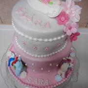 Torta narodeninovo-krstinová