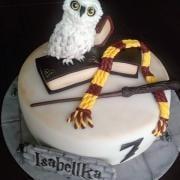 Torta Harry Potter - Hedwiga