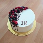 Torta Na 18. narodeniny