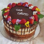 Torta Torta pre dvoch oslávencov...