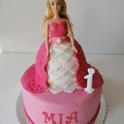 Torta S bábikou
