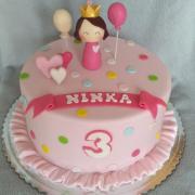 Torta S malou princeznou