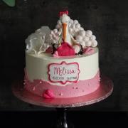 Torta Krstinová s bocianom