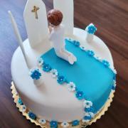 Torta Prvé sväté prijímanie-pre chlapca