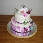 Torta S motýlami