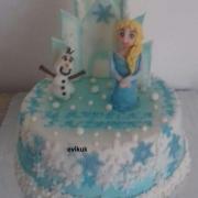Torta Frozen na želanie