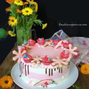 Torta Malinová tortička