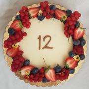 Torta Narodeninová drip torta...