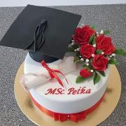 Torta promočná ruže