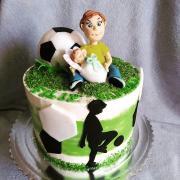 Torta Pre súrodencov futbalová