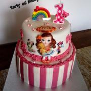 Torta Narodeninová tortička k prvým narodeninám