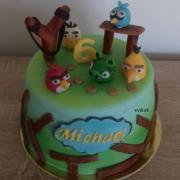 Torta detská s angry birds