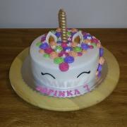 Torta Jednorožec pre Sofinku