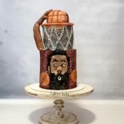 Torta James Harden - obľúbený basketbalista