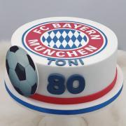 Torta Narodeninová pre fanúšika FC BAYERN