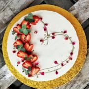 Torta srdiečková