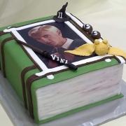 Torta kniha na želanie