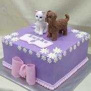 Torta pes a mačka