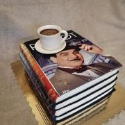 Torta Knihy a dobrá kávička