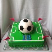 Torta futbalistovi k narodeninám