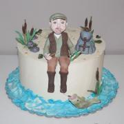 Torta pre rybára